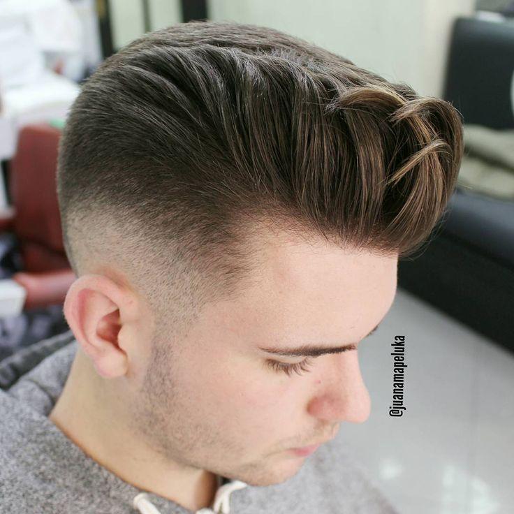 Pompadour Hairstyles for Men - Men's Hairstyle TrendsFacebookGoogle+InstagramPinterestTwitter