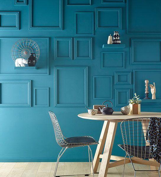 Ral Bleu Canard Unique Image Les 42 Meilleur Cuisine Bleu Petrole Graphie Empty Frames Decor Home Decor Frame Decor