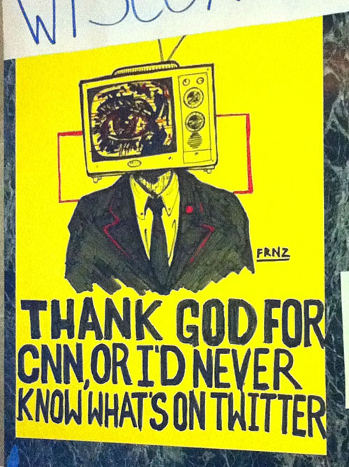 CNN: Random Nonsen,  Dust Jackets, Hln News, Sotrue, News Junkie, Quote, Thanks God,  Dust Covers,  Dust Wrappers