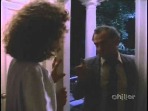 SKELETON IN THE CLOSET. First aired on February 11, 1989, starring Mimi Kuzyk, Bill Lake, Jeff Wincott, Elias Zarou, Michael Kirby and Elizabeth Hanna. Teleplay was by Brian Clemens, Glen Davis and William Laurin. Directed by George Mendeluk. A man tries to blackmail a wealthy woman for something she did in college.