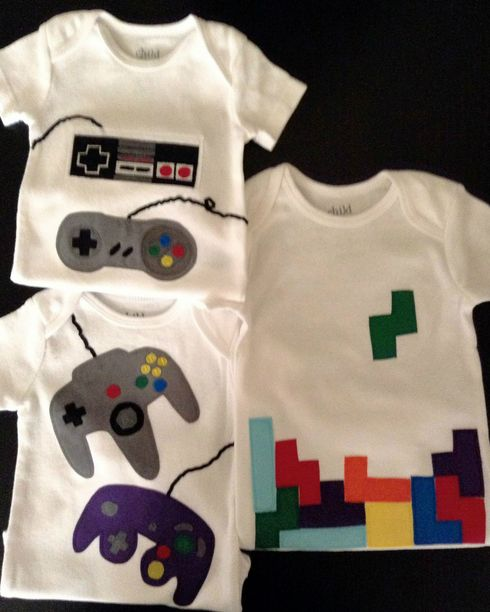 Gaming Baby Clothing for Kids & Babies at Spreadshirt Unique designs day returns Shop Gaming Kids & Babies Baby Clothing now!