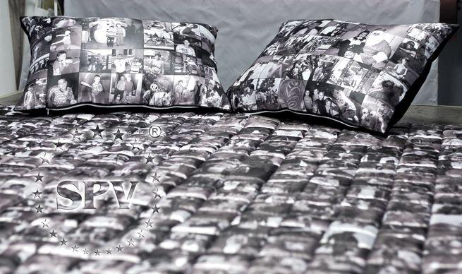 Печать на ткани - плед с более чем 400 фото!!! Уникальные подарки.