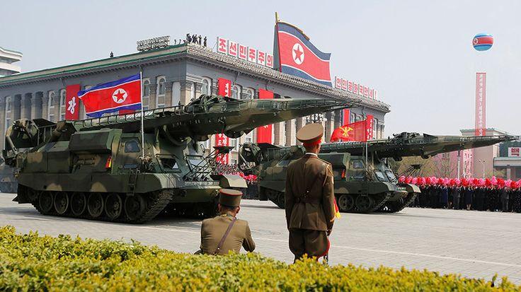 La dernière rotation de l'axe du mal «Corée du Nord–Syrie» annonce une guerre des Etats-Unis  LES NOUEAUX NAZIS (U S A ) SONT DEVENUES FOU  ILS ONT DES ARMES ILS VEUENT S'EN SERVIRE