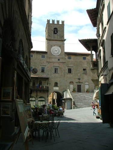 Piazza della Repubblica - Cortona: Travel Memories