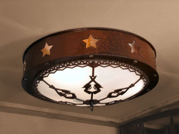 Cherokee Iron Works | Rustic & Western Lighting | Rustic & Western Chandeliers | Rustic & Western Home Decorations - Stars