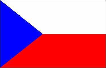 Bandera, República Checa,