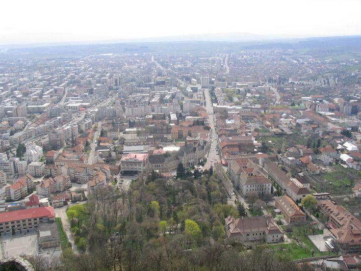 Orasul Deva, Romania.