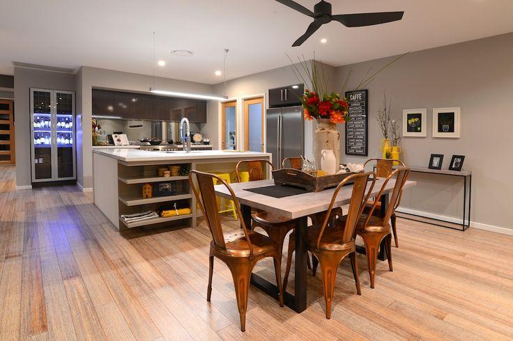 Kitchen. Dining. Floorboards.