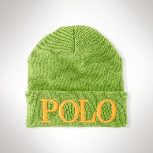 €12, Bonnet vert Polo Ralph Lauren. De Ralph Lauren. Cliquez ici pour plus d'informations: https://lookastic.com/women/shop_items/93100/redirect