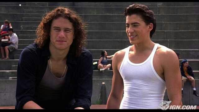 10 Things I Hate About You Patrick: Heath Ledger (Patrick Verona) & Andrew Keegan (Joey Donner