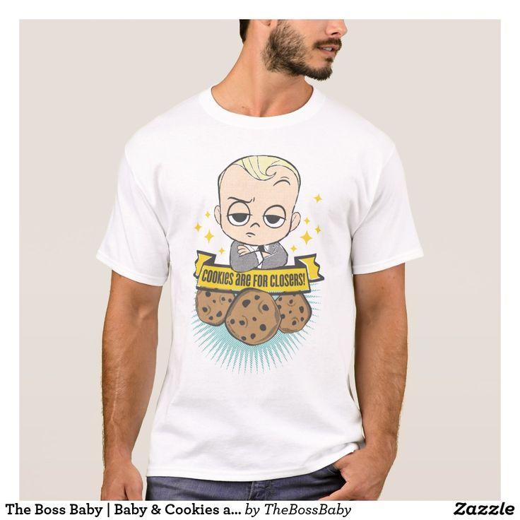 The Boss Baby | Baby & Cookies are for Closers! T-Shirt. Producto disponible en tienda Zazzle. Vestuario, moda. Product available in Zazzle store. Fashion wardrobe. Regalos, Gifts. Trendy tshirt. #camiseta #tshir