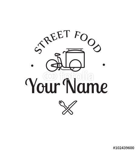 """Un logo """"rétro"""" pour un food truck vintage"""