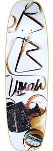 RB Umali Filmer Shape (Limited edition) skateboard deck by Zoo York  8.25