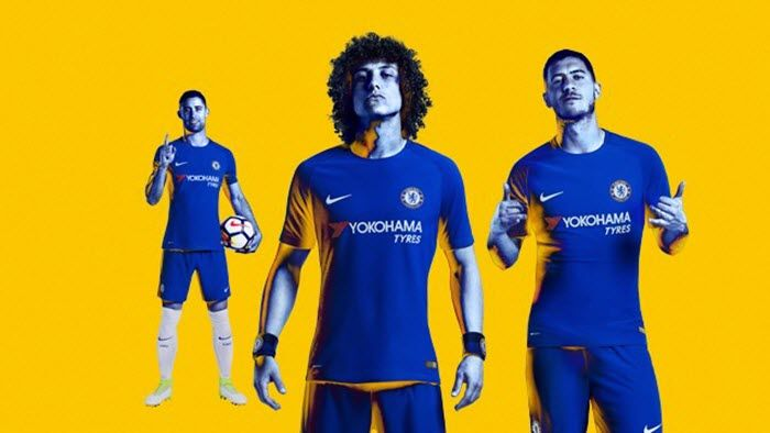 Chelsea FC and Nike today unveil their new home and away kits for the 2017/18 season.