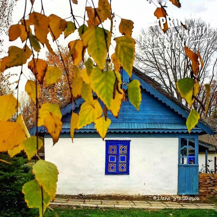 Village National Museum, old house (1898) from Tulcea County, Dobrogea Black Sea Coast