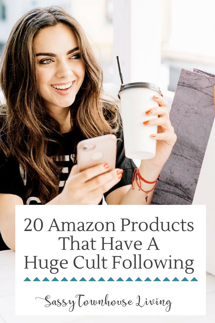 20 Amazon Products That Have A Huge Cult Following. Let's face it, shopping for Amazon products is the way to go if you love finding unique items and great deals. #Amazon #Shopping #Shoppingdeals