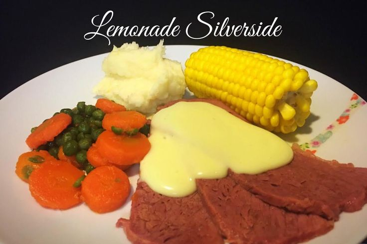 Fall apart tender slow cooked silverside/corned beef with the slightest hint of sweet