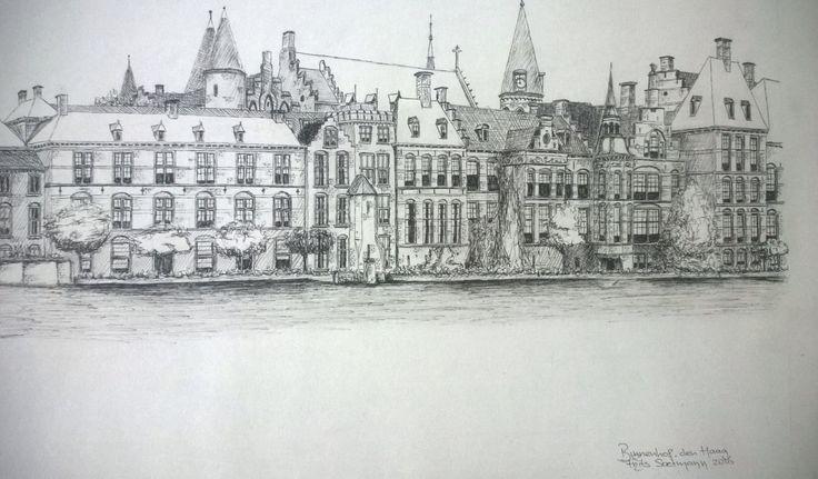 """""""Het Binnenhof"""" Den Haag, Nederland"""