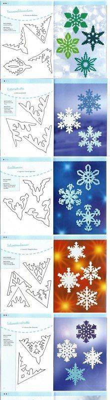 Zobacz zdjęcie diy, schemes, paper snowflakes, tutorial