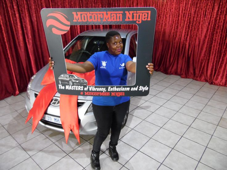 Ms Zulu taking delivery of her Hyundai I20! 🚗 We only post pictures with permission of the client #permissiongranted #WeGetYouMoving #AnotherSuccessfulDelivery ‪#SatisfiedClients #FinanceAvailable #ThroughAllMajorBanks‬‬‬‬‬‬ ‪#TheMotorManWay ‬‬‬‬‬‬#TheMotormanEffect #motorman #cars #nigel #Hyundai #I20 #Hatch For the best deals call us now at: 011 814 1729 Whatsapp us now at: 083 784 0258 Or Email us on: leads@motorman.co.za Proudly brought to you by MotorMan! 🚗