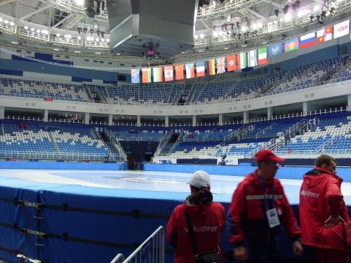 Sochi's short track and figure skating rink.