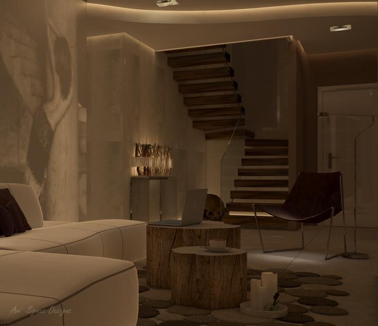 Pin by ari signes designs on my work interior design - Interior design open space ...