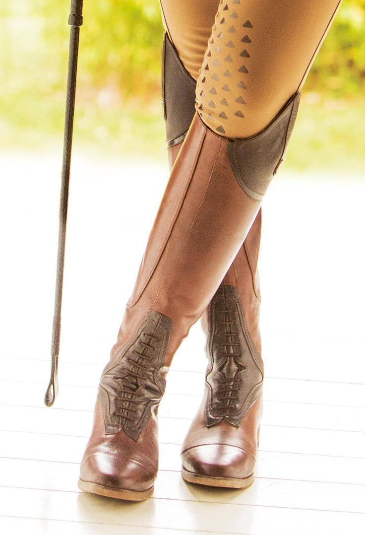 I believe in a thing called love. Mountain Horse USA Sovereign Field Boots, so beautiful, we guarantee you will fall for them ❤️. Available in black or brown #MountainHorse