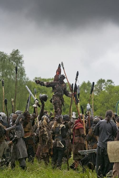 The people of the Plains are divided into war bands. Young men join them at age 14-16 and stay for 3-5 years where they work out their rank in society at large.