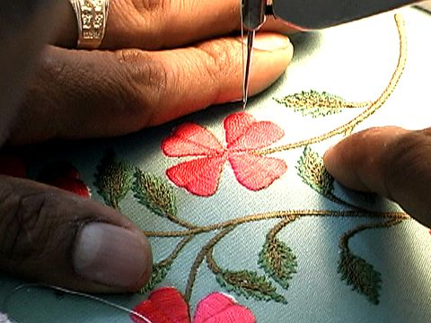 Manuel's Free-Motion Embroidery Technique
