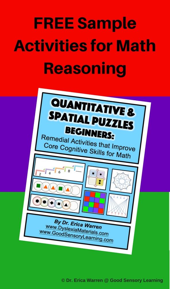 Free Sample Activities for Math Reasoning | Classroom