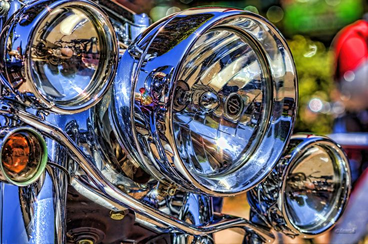 500px / Harley Lights by Steve Sexton