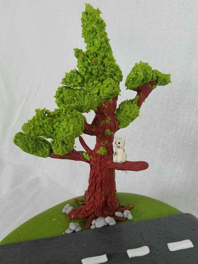 Fondant tree