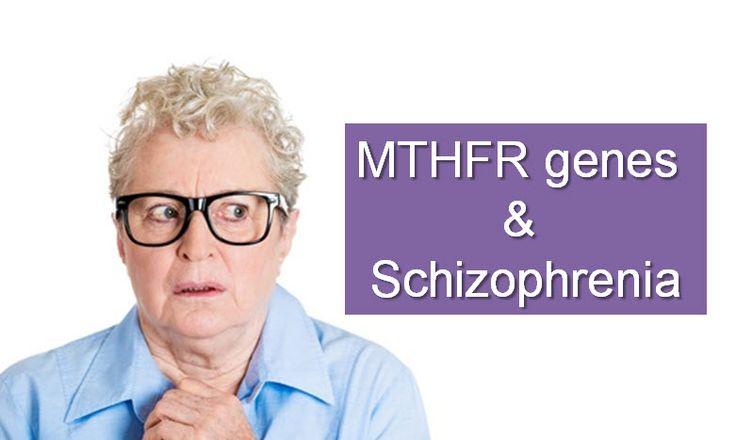 Do MTHFR gene mutations cause schizophrenia? See the symptoms associated with schizophrenia and how MTHFR can cause schizophrenia