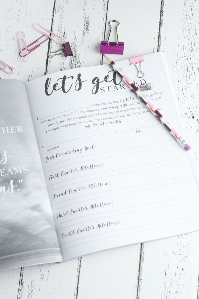 Plan for 2019 with this goal-setting workbook and planner that will ...