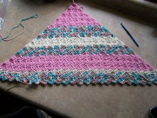 Corner Start Afghan..this one has a great step by step picture tutorial for the corner to corner afghan.