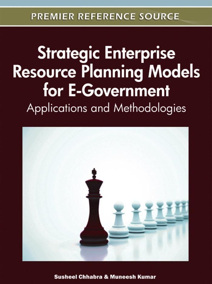 I'm selling Strategic Enterprise Resource Planning Models for E-Government: Applications and Methodologies - $65.00 #onselz