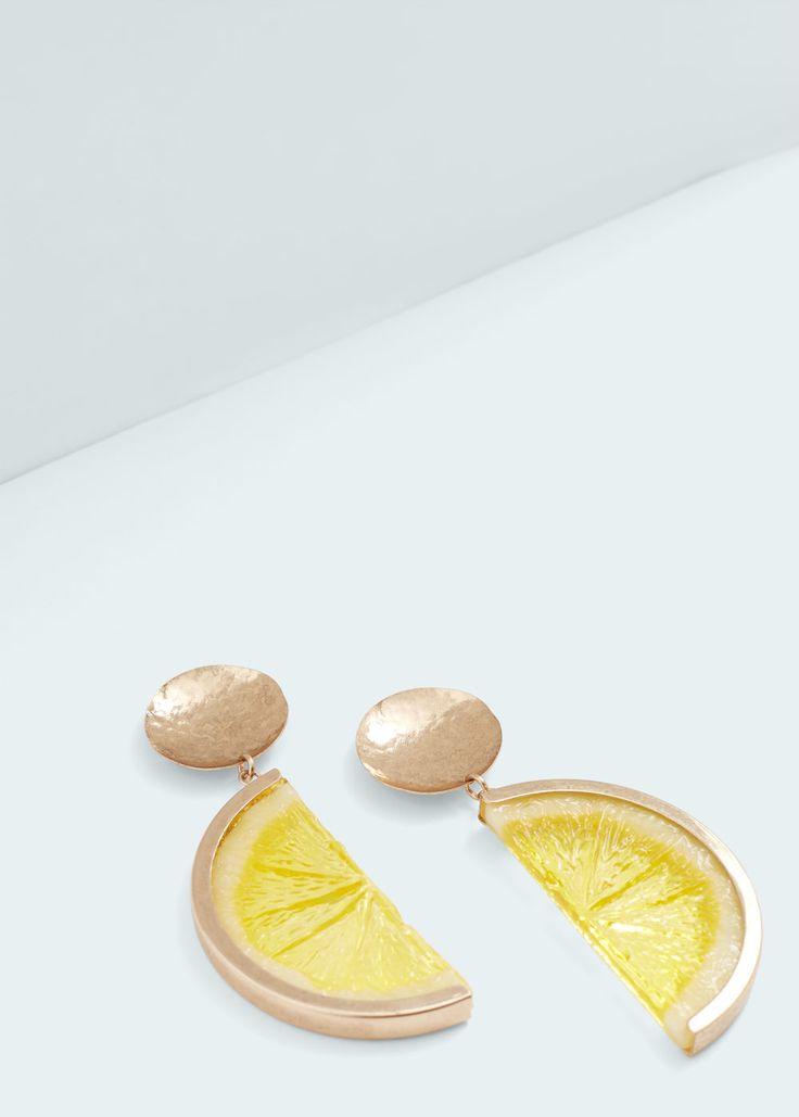 Pendientes limones | MANGO
