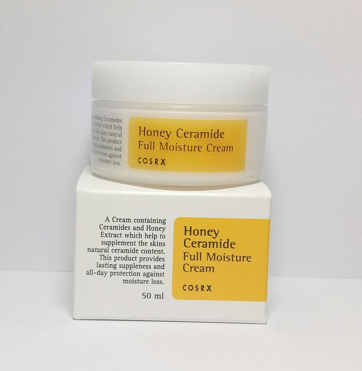 COSRX Honey Ceramide Full Moisture Cream 50ml. A cream containing Ceramides and Honey extract which help to supplement the skin's natural ceramide content. After cleansing and toning, apply daily all over face, avoiding eye area. | eBay!