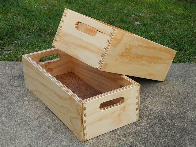 plywood box 1 by davidrockdan, via Flickr