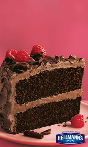 Always a fan favorite...our Chocolate Mayonnaise Cake is delicious.