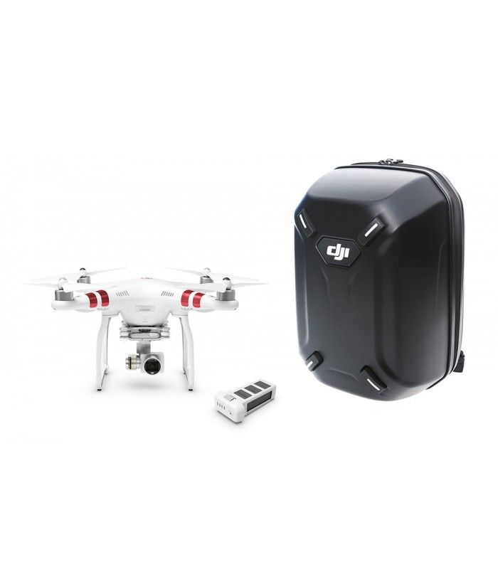 On Sales : DJI Phantom 3 Standard + Extra Battery + Hardshell Backpack FROM $1.055,00 NOW at $970.60