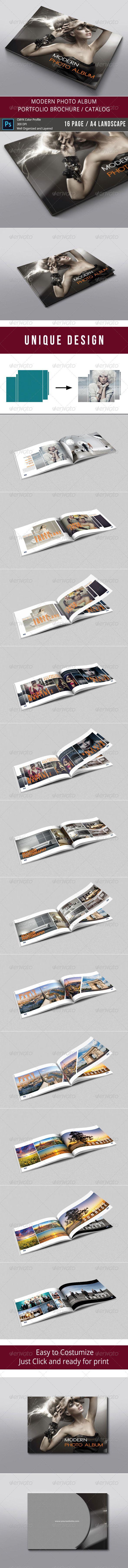 Modern Photo Album Template #albumtemplate Download: http://graphicriver.net/item/modern-photo-album/8026411?ref=ksioks