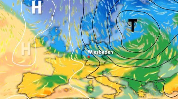 Sturmwarnung zum Wochenende