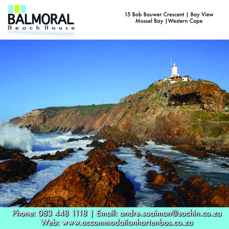 Cape St Blaize Lighthouse, a circular cast iron tower painted white Other Features. Only rock lighthouse on the South African coast. Click here to read more: http://besociable.link/nc #CapeStBlaize #SouthAfrica