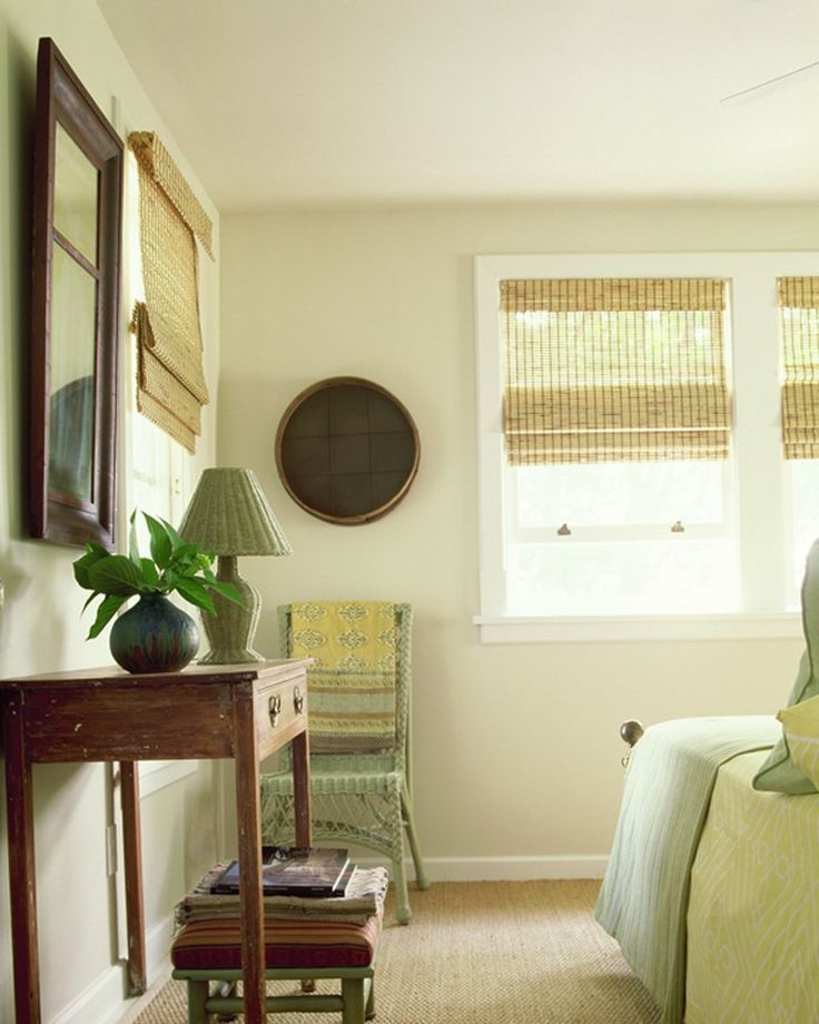 Gorgeous transitional bedroom in lime tones by huniford Design studio