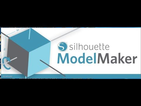 Video tutorial in italiano :Software silhouette Model Maker