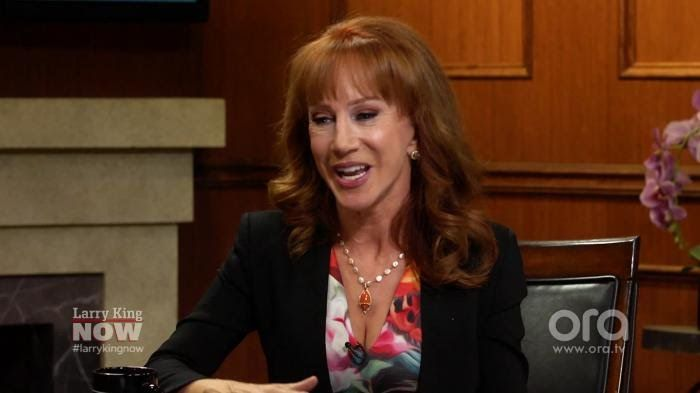 Kathy Griffin shares a bizarre Britney Spears story | Larry King Now | O...