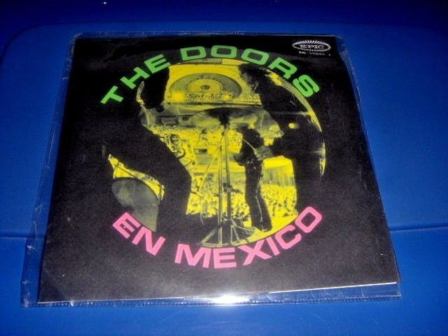 The Doors In Mexico promo EP titles in Spanish #thedoors #ep #single #vinyl