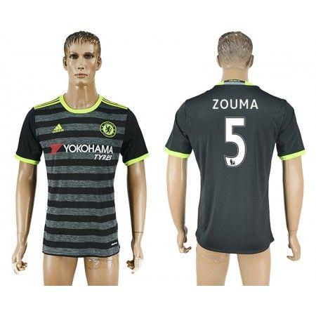 Chelsea 16-17 #Zouma 5 Udebanetrøje Kort ærmer,208,58KR,shirtshopservice@gmail.com