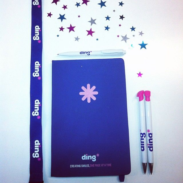 Creating smiles, one page at a time! #topupyourday #dinglife #stationery #organisation